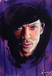 Prince II by Zinsky -  sized 16x22 inches. Available from Whitewall Galleries